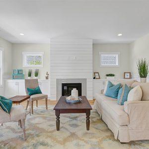 Interior Detail Living Room Salt Spray