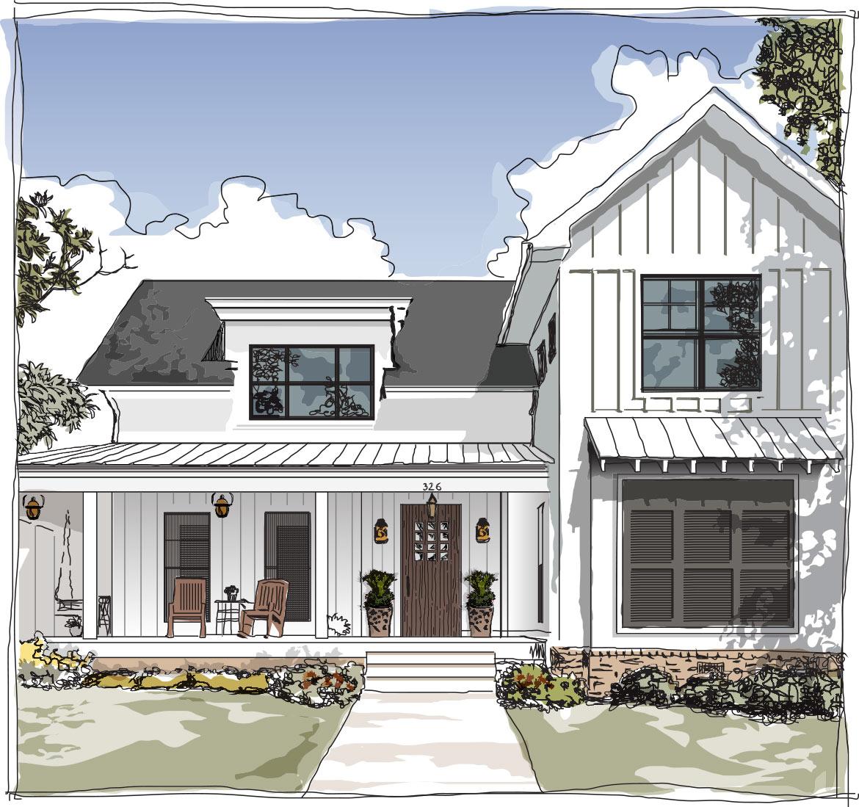 Orchard Home Illustration