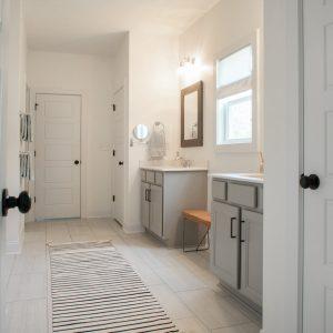 Jack and Jill Bathroom Interior