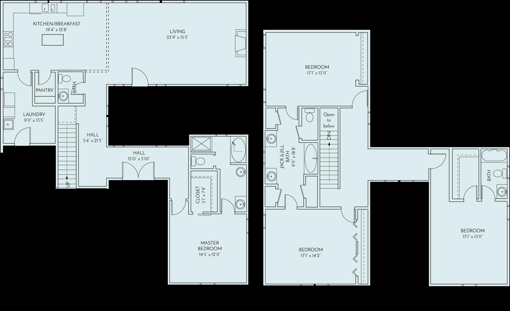 Masonboro Place Floor Plan