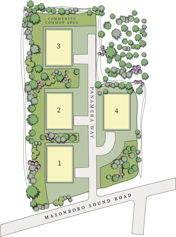 Masonboro Place Site Map