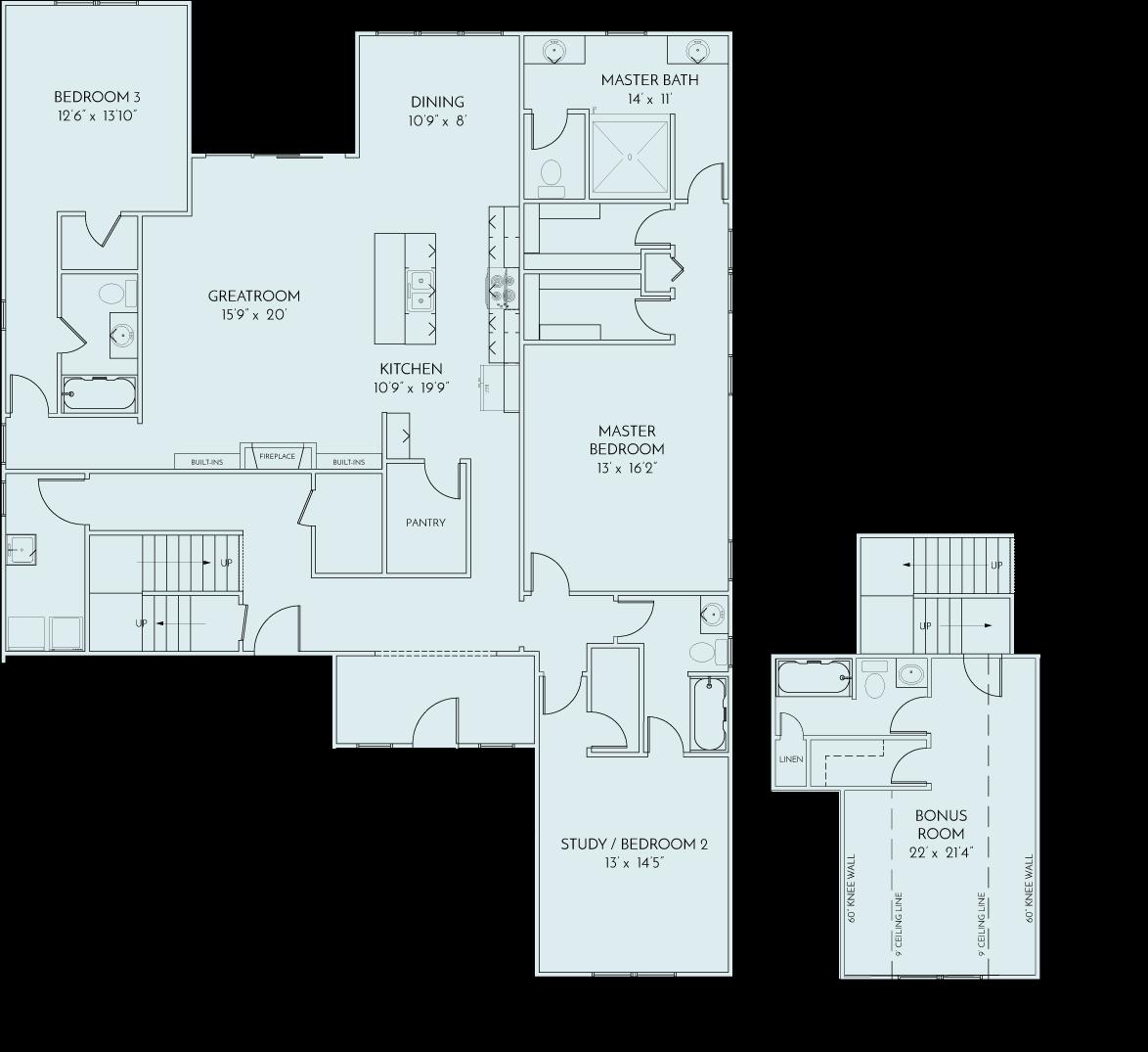 Farmstead Floor Plan